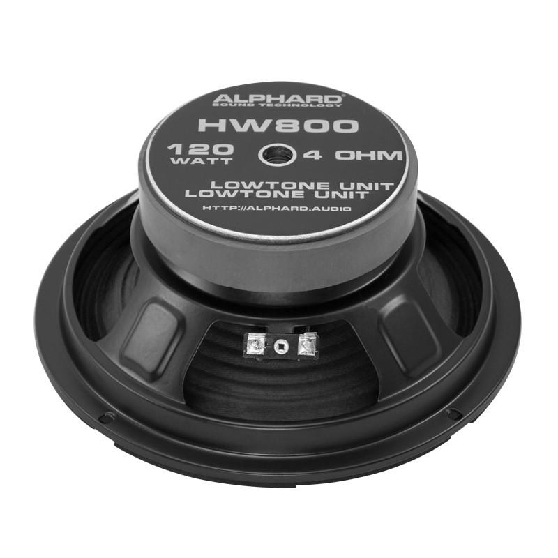 Мидбас (НЧ-динамик) Alphard HW800 - фото 3