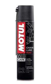Смазка цепи Motul C2 Chain Lube Road 0.4л