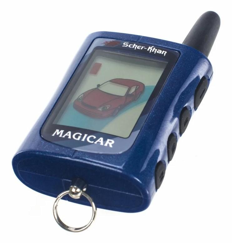 купить брелок сигнализации шерхан магикар