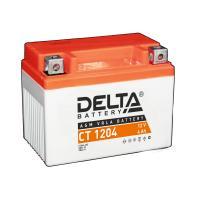 АКБ Мото Delta AGM 12В 4А/ч о.п. ток 50 113x70x89 CT1204