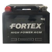АКБ Мото Fortex AGM 12В 7А/ч о.п. ток 100 113х70х131